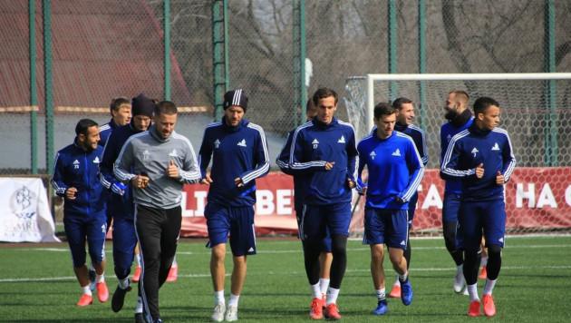 """Футболисты """"Астаны"""" получили травмы на тренировке после карантина"""
