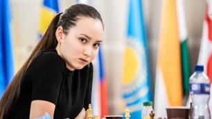Жансая Абдумалик выиграла семь партий подряд и стала призеркой супер-турнира ФИДЕ