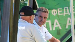 Экс-тренер молодежной сборной Казахстана начал переговоры с белорусским клубом
