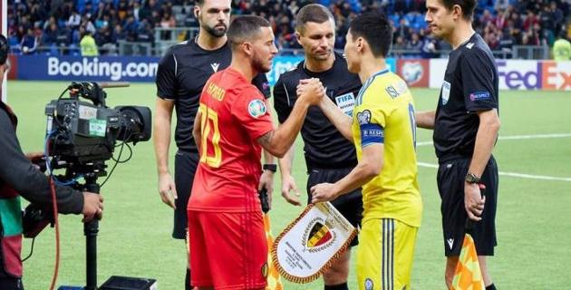 Победитель группы Казахстана в отборе на Евро-2020 оригинально объявил о контракте с тренером