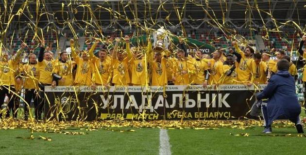 Гол на 121-й минуте принес БАТЭ победу в финале Кубка Беларуси