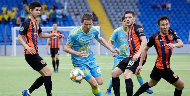 """""""Астана"""" и """"Шахтер"""" будут играть на одинаковых полях после ремонта стадионов"""