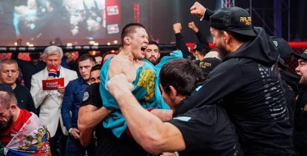 Появилась информация о дебюте казахстанца Жалгаса Жумагулова в UFC