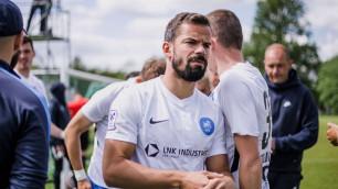 Экс-игрок казахстанских клубов отметился голом в товарищеском матче за европейский клуб