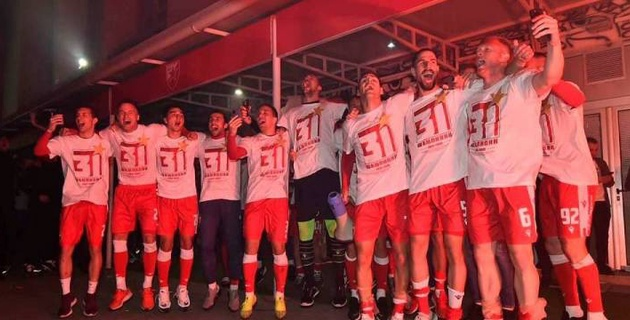 Европейский клуб стал чемпионом в первом матче после рестарта сезона