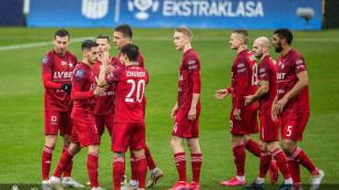 Европейский клуб с Жуковым в старте проиграл первый матч после возобновления чемпионата