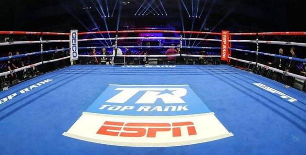 Top Rank анонсировал семь вечеров бокса на ESPN
