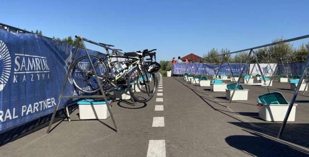 Казахстанская федерация триатлона провела первый TEMIRADAM Training