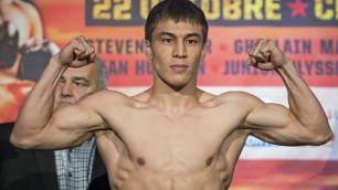 Казахстанский боксер с двумя титулами вспомнил о встрече с Головкиным