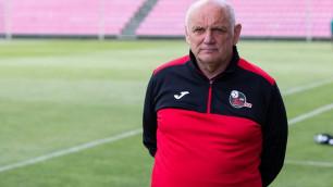 Экс-тренер молодежной сборной Казахстана по футболу дебютировал с победы в новом клубе
