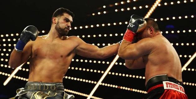 Тренировавшийся с Головкиным супертяж помогает полицейскому из Италии стать топовым боксером