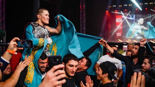Объявлены соперник и дата дебютного боя Жумагулова в UFC