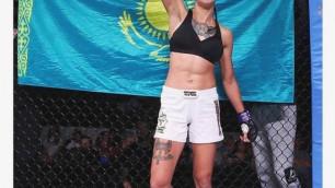 Стал известен полный кард турнира UFC с дебютным боем казахстанки Марии Агаповой