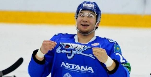 """Когда Дамир Рыспаев играл за """"Барыс"""" в КХЛ?"""