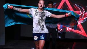 Казахстанка Мария Агапова провела фотосессию для UFC перед дебютным боем