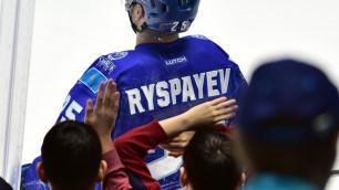 """Два """"ушедших"""" игрока """"Барыса"""" остаются, а Дамир Рыспаев уходит?"""