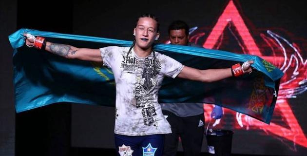 """""""Вот это дебют!"""". Казахстанка впечатлила UFC"""