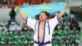 Самый титулованный спортсмен Казахстана по қазақша күрес заразился коронавирусом