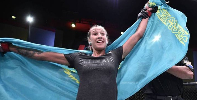 Агапова предстала потенциальной звездой UFC - российские СМИ о дебюте казахстанки