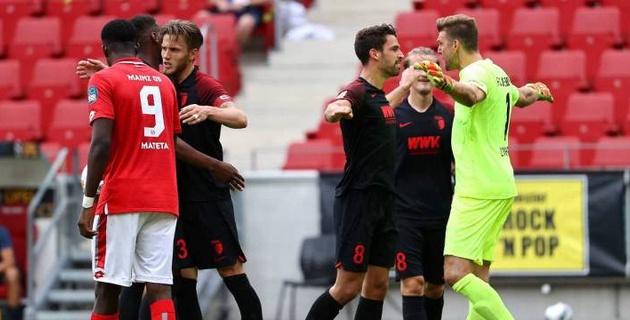 Гол на первой минуте определил победителя матча бундеслиги