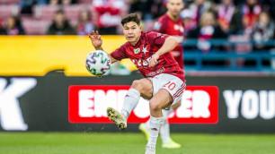 Польский клуб с казахстанцем Жуковым в стартовом составе набрал очки во втором матче подряд