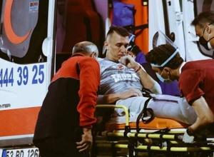 Вратарь получил двойной перелом ноги в первом матче после возобновления сезона