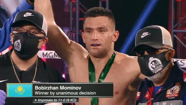 Казахстанский боксер получил медаль от WBC