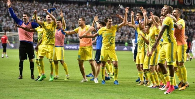 УЕФА изменил формат Лиги чемпионов и Лиги Европы для казахстанских клубов