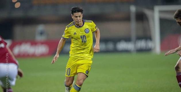 Футболист сборной Казахстана из Европы стал отцом