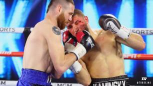 Американский боксер одержал сенсационную победу в Лас-Вегасе