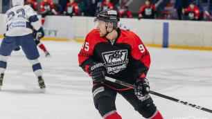 Форвард со 149 матчами в КХЛ стал игроком казахстанского клуба
