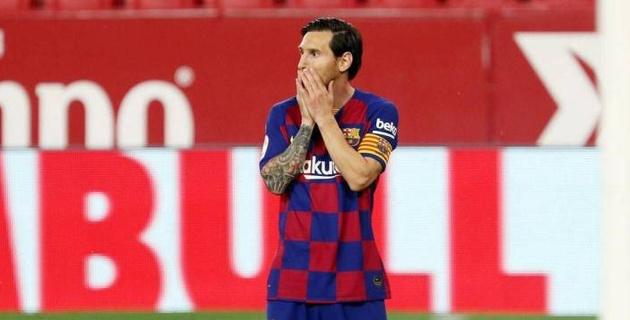 """""""Барселона"""" совершила первую осечку после рестарта Ла Лиги"""