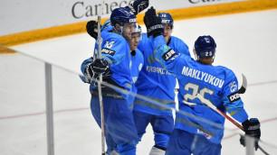 Сборная Казахстана по хоккею узнала даты проведения ЧМ-2021