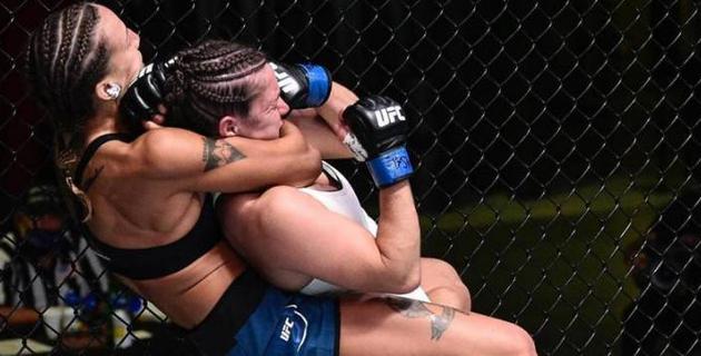 Первая в истории UFC казахстанка сделала заявление о следующем бое