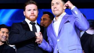 """Головкина и """"Канело"""" назвали самыми большими именами в боксе"""