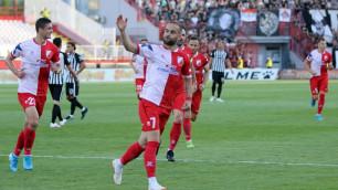 Экс-игрок казахстанского клуба завоевал Кубок Сербии