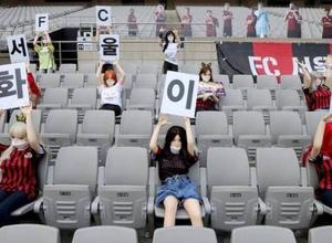Трибуны стадионов в Южной Корее могут частично открыться для фанатов на следующей неделе