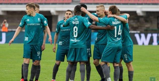 Третий гол казахстанского футболиста принес белорусскому клубу разгромную победу
