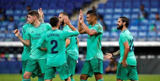 """""""Реал"""" вернул себе лидерство и оторвался от """"Барселоны"""""""