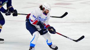 Второй бомбардир чемпионата Казахстана по хоккею перешел в клуб из Европы