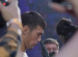 Стало известно о снятии казахстанского бойца Рахмонова с турнира UFC