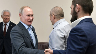 Владимир Путин позвонил Хабибу Нурмагомедову и выразил соболезнования