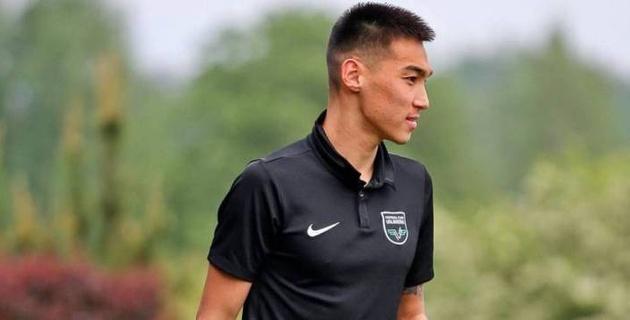 Казахстанский футболист забил первый гол в чемпионате Латвии