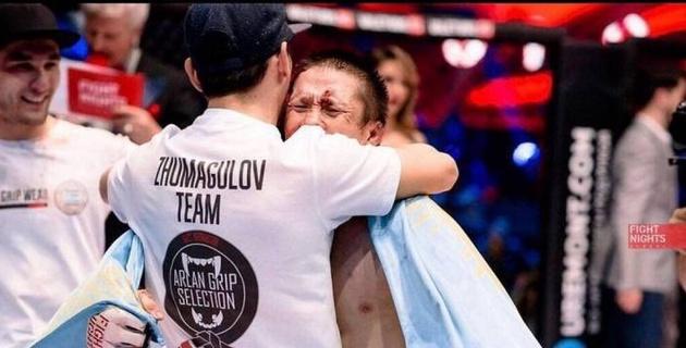 Жалгас Жумагулов вместе с командой вылетел на дебютный турнир UFC