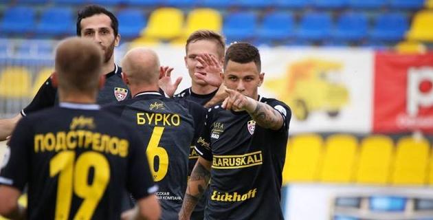 Белорусский футболист забил издевательский гол