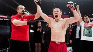 Qazsport рассказал подробности трансляции дебюта казахстанца Жалгаса Жумагулова в UFC