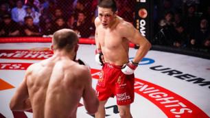 Нокаут или удушающий? Как завершится дебютный бой казахстанца Жумагулова в UFC