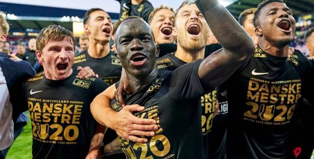 Определился чемпион Дании по футболу
