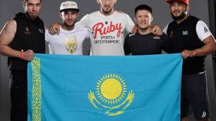 Где и во сколько смотреть дебютный бой казахстанца Жалгаса Жумагулова в UFC
