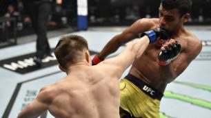 Поставившим на победу Жалгаса Жумагулова в UFC казахстанцам вернули деньги